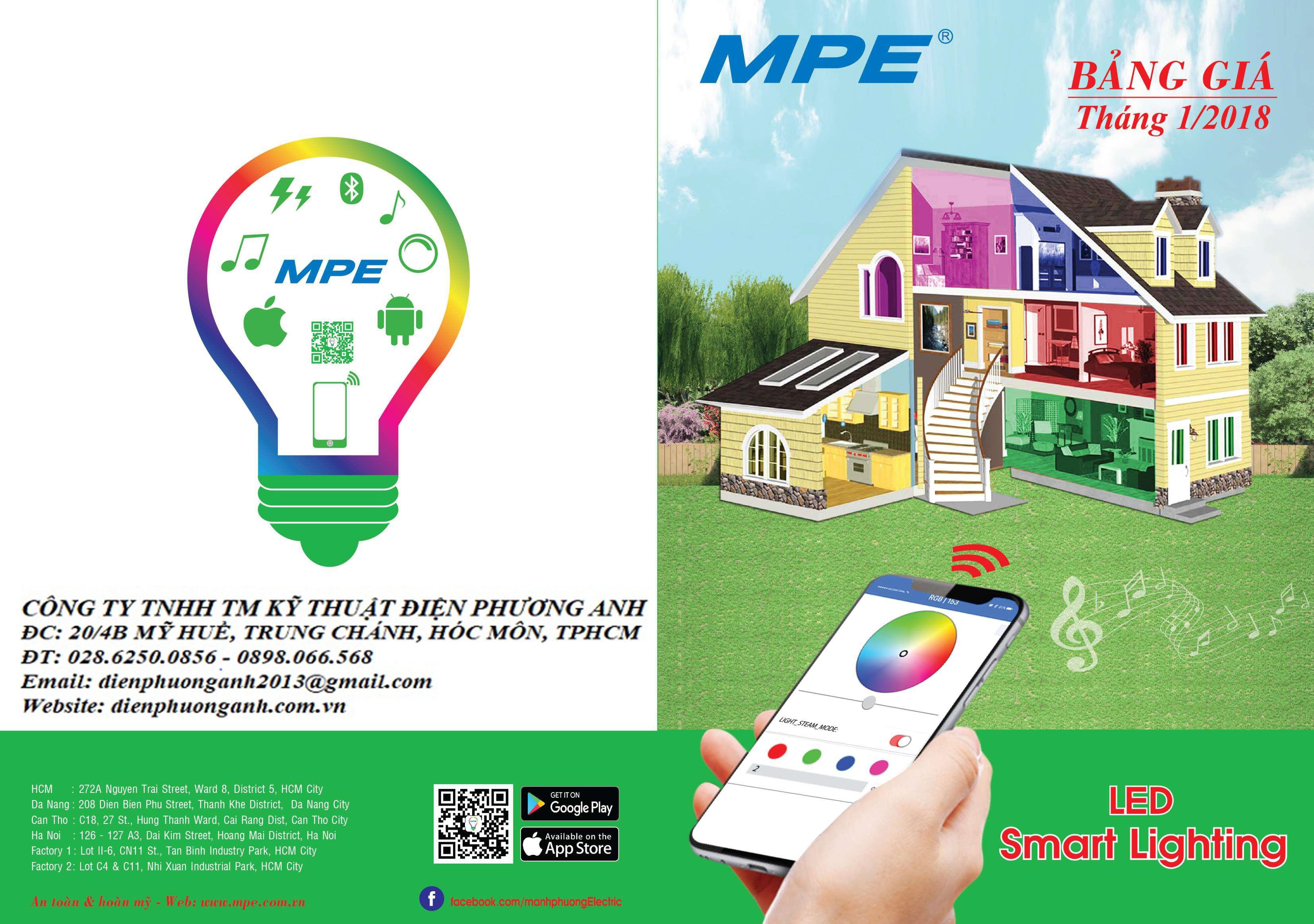 Đèn Led MPE sử dụng chip led gì