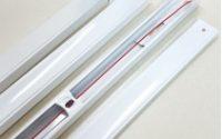 Máng đèn tuýp Led 1m2 sơn tĩnh điện.
